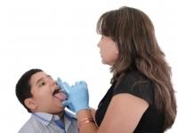 throat exam